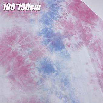Diy Super Thin Cooling Craft Fabric Gradient Multi-color Patchwork