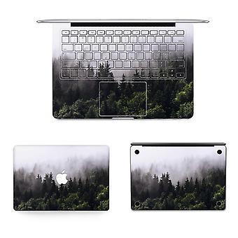 Texture Laptop Body Decal Beskyttende Hud Vinyl Mountain Design Sticker