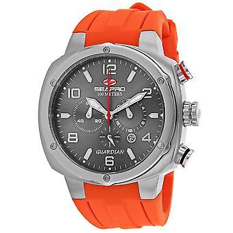 Seapro Guardian Chronograph Quartz Grey Dial Men's Watch SP3344