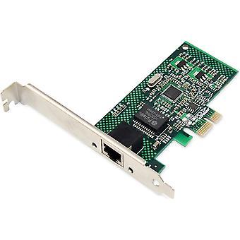 Wokex IO-Karte - PCIe - RJ45 Netzwerk-Karte - 1-Port - Gigabit Ethernet - 1 Gbit/s - PCI-Express
