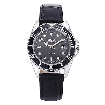 Dqg Luxury 30m Waterproof Date Clock / Quartz Wrist Watch