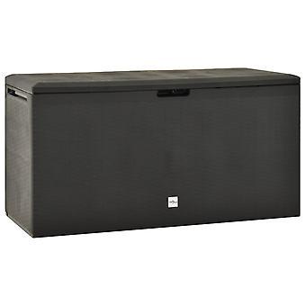 Garden Storage Box Anthracite 114x47x60 Cm