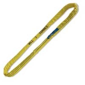 Beta 081760050 Round Slings Yellow 3t Hi-Ten Belt 3000kg 2.5 Metre