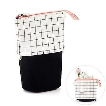 Pencil Canvas Cases Big Stationery Bag Cute Pen Holder