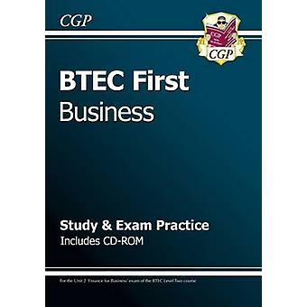 BTEC First in Business  Study  Exam Practice with CDROM CGP BTEC First
