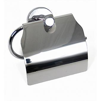 bC rolhouder wand 15 x 7 x 12 cm zink zilver