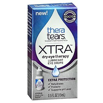 Theratears extra dry eye therapy lubricant eye drops, 0.5 oz