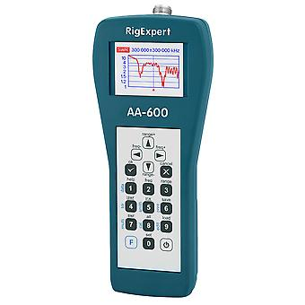 Analisador de antena RigExpert AA-600, 0,1-600 MHz, display de cores, para antenas HF/VHF