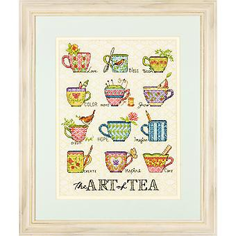 Dimensions Counted Cross Stitch: The Art of Tea