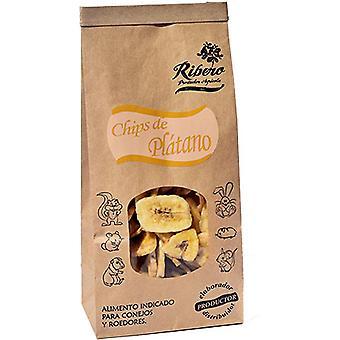 Ribero Banana Chips (Small pets , Dry Food and Mixtures)