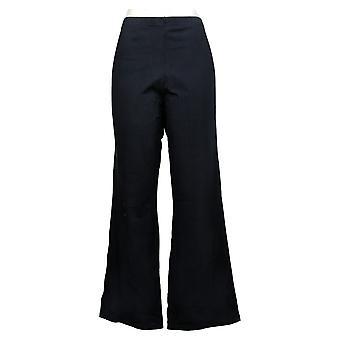 "Women With Control Shapewear Regular ""Leah"" Boot-Cut Pants Black A366024"