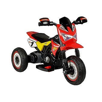 Elektrische driewieler - bestuurbare motor rood