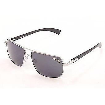 Paul Vosheront Sunglasses PV347 Polarized Lenses Metal Plastic Italy 63-14-145