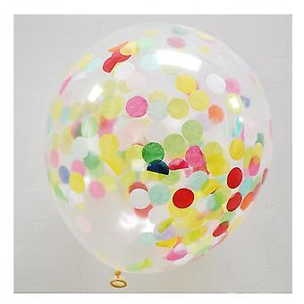 Fest bryllup bursdag feiring ballonger dekorasjoner 50pcs 18-tommers konfetti