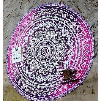 Mandala Rund Yoga Mat