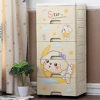 Cartoon's Wardrobe Drawer, Receipt Cabinet Storage Box