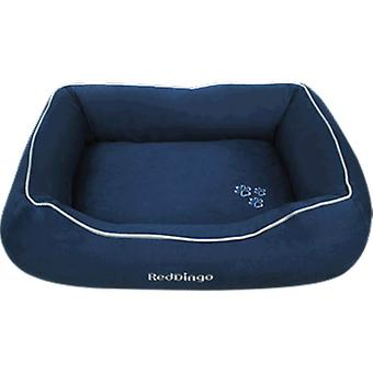Red Dingo Donut Bed Chocolate (Dogs , Bedding , Beds)