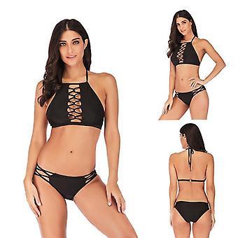 ملابس السباحة فتاة بالإضافة إلى حجم جيوب مطبوعة بيكيني ضئيلة تناسب ملابس السباحة أزياء