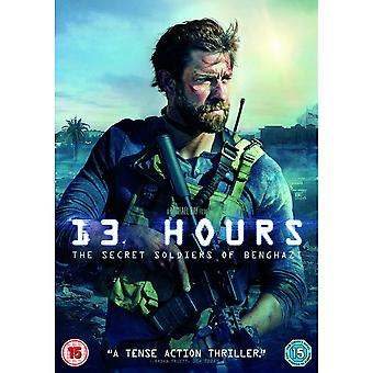 13 Hours (2016) DVD