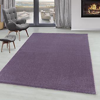 Stue Tæppe IROH Soft Pile Kort Bunke Monokrom moderne solide farver