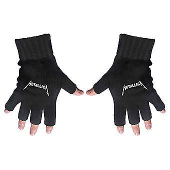 Metallica - Logo Rękawice bez palców