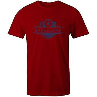 Sporting empire barcelona 1899 established badge football t-shirt