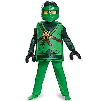 Lloyd Deluxe Lego Ninjago Maître de Spinjitzu Habiller Enfant Garçons Costume