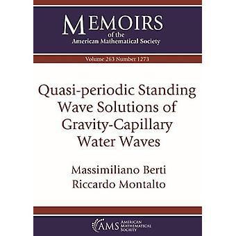 Quasi-periodic Standing Wave Solutions of Gravity-Capillary Water Wav