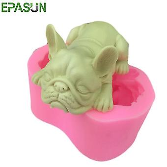 Dog Silikon Form for Soap Mold