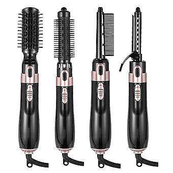 4 In 1 Hot Hair Dryer Brush Electric Hot Air Comb Multifunction Hair Curler Straightener Curler Hair