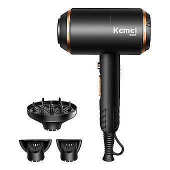 Kemei 4000wヘアドライヤープロ電動ブロードラディッラ強力なパワーブロードライヤーホット/冷たい空気美容髪のブロードライツール