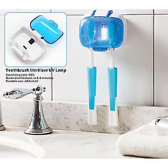 Tandenborstel houder sterilisator voor 2 tanden borstels - Uv-lamp desinfectie doos