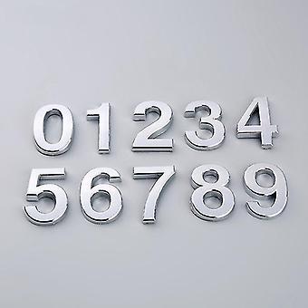 0-9 Modern 3d Hotel Apartment Door Number - Plaque d'immatriculation en plastique