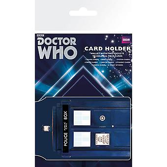 Doctor Who Tardis Card Holder