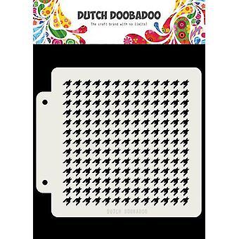 Olandese Doobadoo Dutch Mask Art Stencil Pepita 163x148 470.715.144