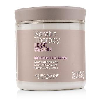 AlfaParf Lisse Design Keratin terapi Rehydrating maske 200ml/6,9 oz