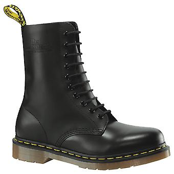 Dr. martens unisex 1490z 10 lace up genuine smooth leather boots shoes doc