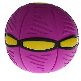 Flying UFO Flat Throw Disc Ball With LED Light Toy Kid Outdoor Garden Basketball Game| Deportes de toy