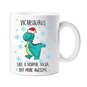 Christmas Vicasaurus Mug