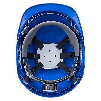 Portwest Mens Endurance Helmet Royal Blue One Size Blue
