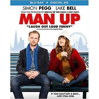 Mann oben [Blu-Ray] USA import