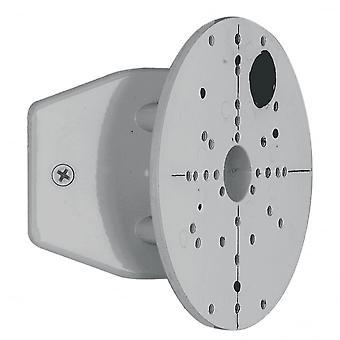 Eglo plata gris Cornermounting soporte para luces de pared al aire libre