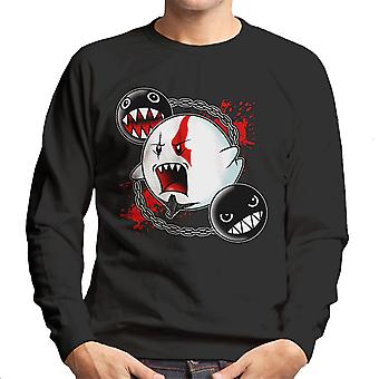 Ghost Of Sparta God Of War Mario Men's Sweatshirt