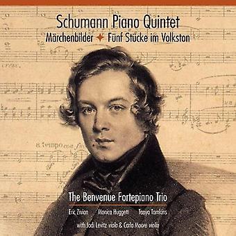 Benvenue Fortepiano Trio - Schumann: Piano Quintet / Marchenbilder / Funf Stucke Im Volks [CD] USA import