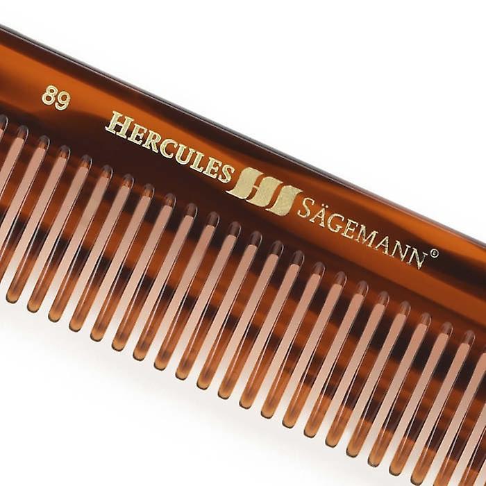 "Hercules Sagemann Sawcut Mens Hair Comb Wide Toothed 7.5"""