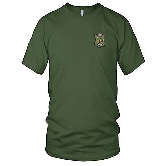PHOENIX Patrol CIA operatie PHUONG HOANG HANH QUAN - Vietnamoorlog geborduurde Patch - Mens T Shirt