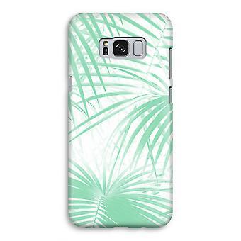Samsung Galaxy S8 volledige Print geval (Glossy) - palmbladeren