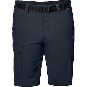 Jack Wolfskin Mens Hoggar protectora de UV ligero Trekking cortos
