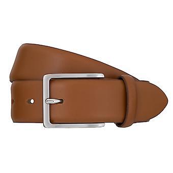 Bugatti belts men's leather belts men's belts leather belt Cognac 2463