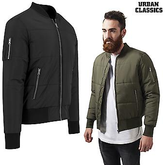 Urban classics jacket basic quilt bomber
